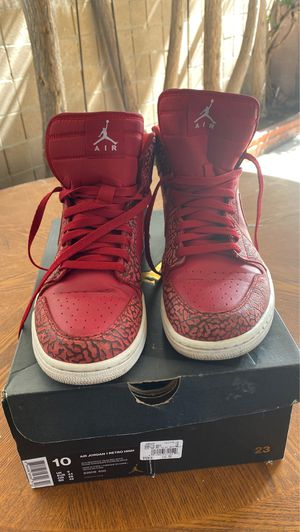 """Air Jordan 1 High """"Red Elephant"""" size 10 for Sale in Los Angeles, CA"""