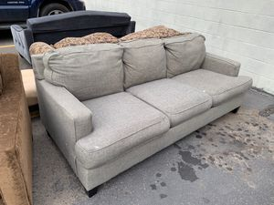 Gray sofa for Sale in Ashland, OR
