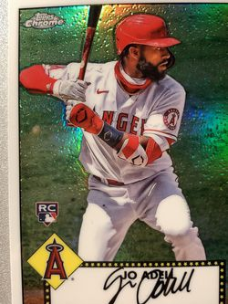 Jo Adell Topps Chrome Rookie Baseball Card for Sale in South Pasadena,  CA