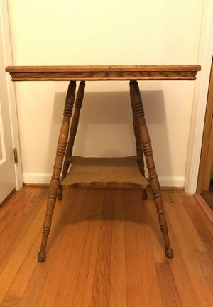 Antique Solid Oak Table for Sale in Chapel Hill, NC