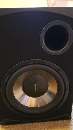 Fusion Subwoofer 12'inches for Sale in Portland, OR