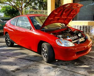 2001 Honda Insight rolling shell... no engine/trans... comes with Innovative K series engine mounts (paid $550 for mounts)... for Sale in Miami, FL