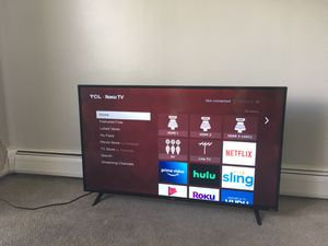 TCL 50' 4K UHD HDR ROKU TV for Sale in Bloomingdale, IL