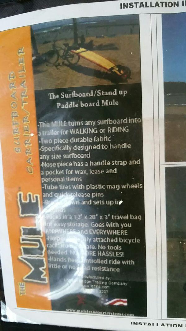 Paddleboard SUP surfboard mule