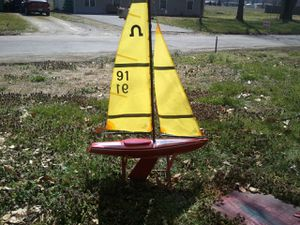 Soling 1m rc sailboat for Sale in Caseyville, IL