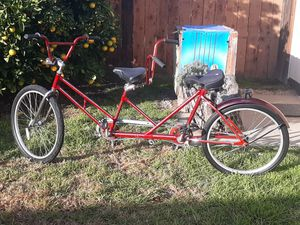Tandem bike , brand unknown . for Sale in Diamond Bar, CA