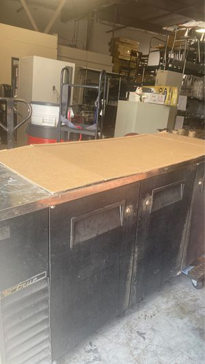 True back bar cooler used 82 inch for Sale in Fountain Valley, CA