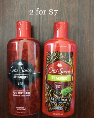 Old Spice Hair 2 in 1 Shampoo & Conditioner: 2 for $7 for Sale in East Los Angeles, CA