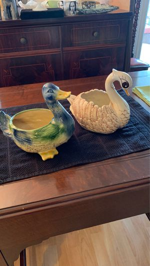 Home and Garden. Ceramic Bird Flower/Plant Holders for Sale in Fort Lauderdale, FL