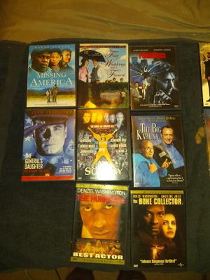 100 + DVD's for sale, lots of watchable entertainment, bulk prices for Sale in Chandler, AZ