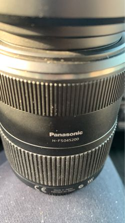 LUMIX Panasonic 45-200mm lens for Sale in Chelsea,  MA