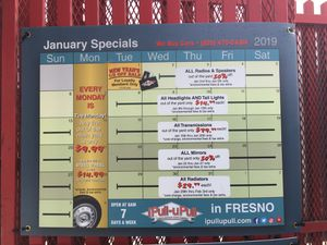 IPULLUPULL January weekly specials for Sale in Fresno, CA