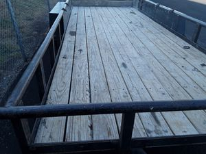 20 foot Texas Bragg utility trailer for Sale in Irving, TX