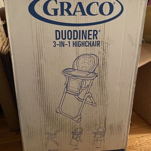 Graco Duodiner 3-in-1 Highchair New In Box for Sale in Arlington, MA