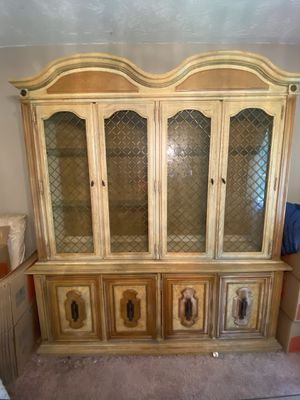 Antique Italian China Cabinet for Sale in Decatur, GA