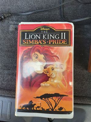 Two vintage nice vhs disney cassette for Sale in Hatfield, PA