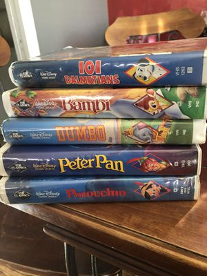 Disney black diamond vhs for Sale in Brentwood, CA