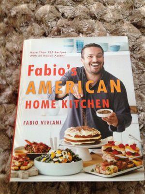 Fabio Viviani Autographed Cookbook for Sale in Chicago, IL