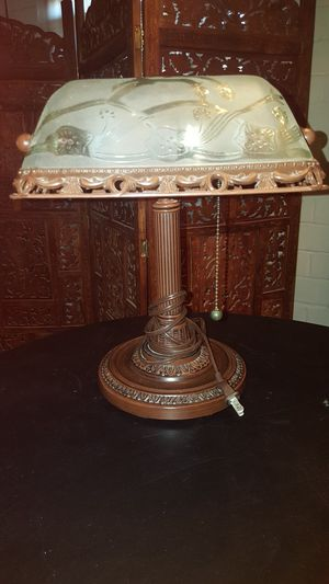Antique Look Bankers Lamp for Sale in Tucson, AZ