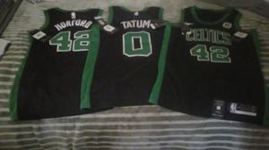 3 celtics jerseys brand new with tags official sport wear for Sale in Boston, MA