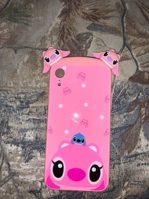Angel and stitch iPhone XR case for Sale in Allentown, PA