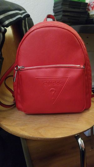 Guess backpack (red) for Sale in Denver, CO