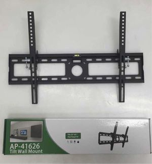 New in box 32 to 65 inches tilt tilting tv television wall mount bracket flat screen plasma 88 lbs capacity for Sale in Covina, CA