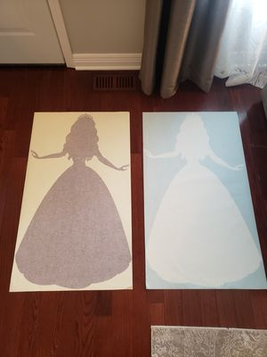 Princess wall decal sticker for Sale in Carol Stream, IL