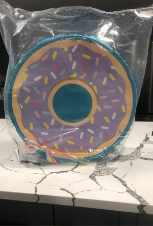 Pull string donut piñata for birthday for Sale in Pinellas Park, FL