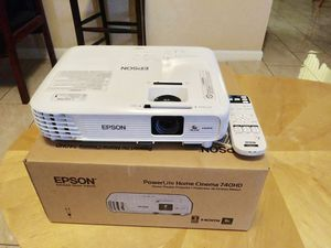 New Epson home cinema! ONLY $350! Obo. Paid over 550 for Sale in Avondale, AZ