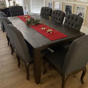 Dining Table Set w/ 8 Chairs for Sale in Marietta, GA