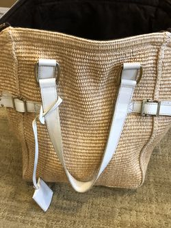 Yves Saint Laurent Straw Bag for Sale in Needham,  MA