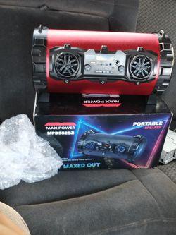 max power speaker for Sale in Houston,  TX