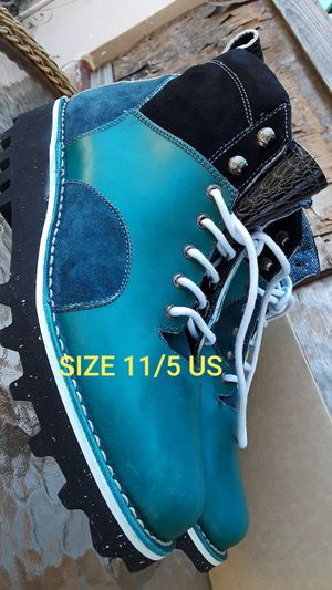 Barleycorn Men Boots Size 11/5 USA 44/5 EU For Hiking Trekking Hand Made in Italy for Sale in Biscayne Park, FL