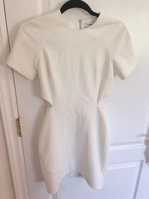 Elizabeth and James white dress size0 for Sale in San Gabriel, CA
