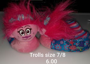 Trolls Slippers for Sale in Duncanville, TX