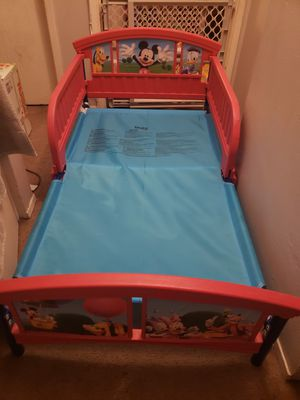 Mickey mouse toddler bed for Sale in Spring Valley, CA