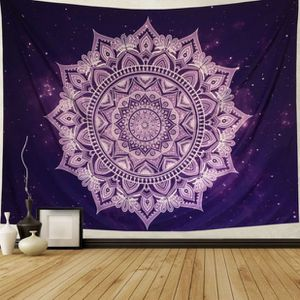 Purple Galaxy Mandala Tapestry Wall Hanging for Sale in Columbus, OH