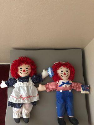 Raggedy Ann & Andy Dolls for Sale in Chino, CA