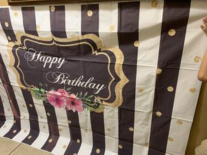 Birthday vinyl backdrop for Sale in Los Angeles, CA