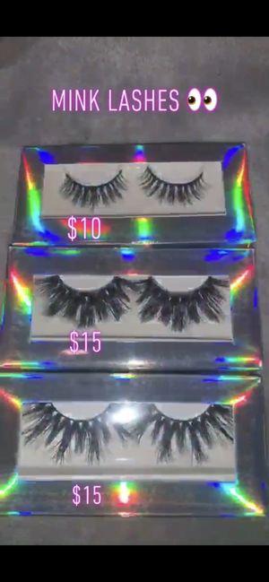 Mink lashes 🦋 for Sale in Overland Park, KS
