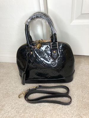Black Monogram Alma BB Crossbody Shoulder Handbag Bag Tote for Sale in Henderson, NV