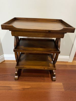 Side table with shelves for Sale in Leesburg, VA