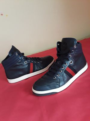 Men's Authentic Gucci Hightop Dark Navy Blue Size 10 (US) for Sale in Marietta, GA