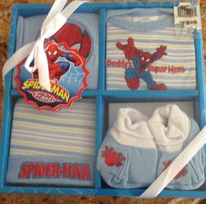Baby set Marvel spiderman for Sale in Austin, TX
