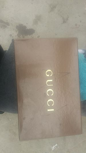 Brand new Gucci shoes never use size 10 for Sale in San Bernardino, CA