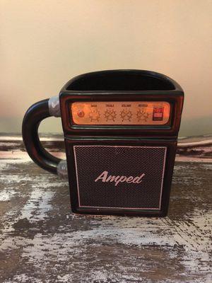 Vintage guitar amp coffee mug for Sale in Buffalo, NY