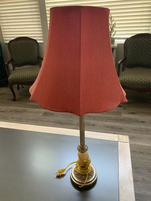 Set of 2 Lamps with shades for Sale in Yorba Linda, CA
