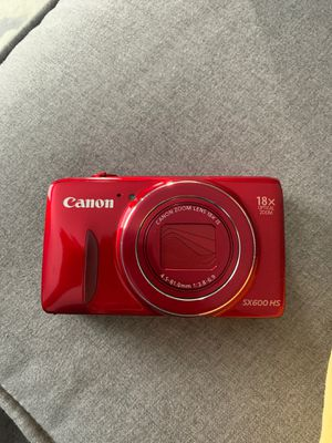 Canon camera powershot sx600 HS new in box for Sale in Clifton, NJ