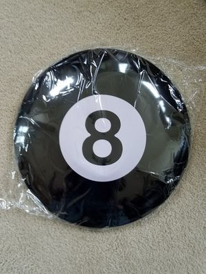 Eight ball pool face dome button metal sign for Sale in Vancouver, WA